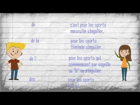 LE VERBE FAIRE + LES SPORTS