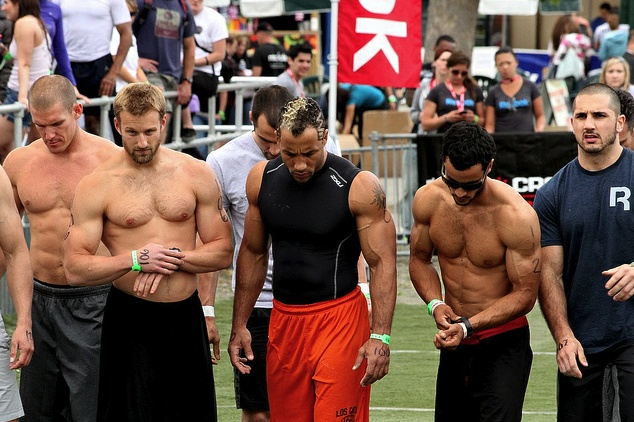 Neal Maddox (center) ~ currently 4th on the #CrossFit ...