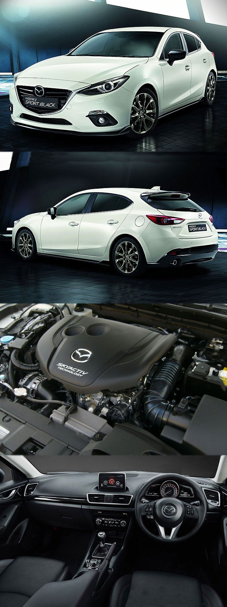 2016 Mazda 3 2.0 Skyactiv-G 120 sport Black has Arrived Get more details at: http://www.garage777.co.uk/blog/2016-mazda-3-2-0-skyactiv-g-120-sport-black-arrived/