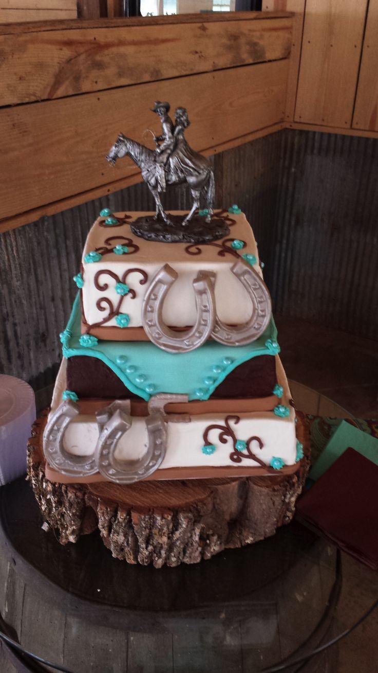 c977ae7bbe18ce536310313c414b8b2d - Western Wedding Cake Topper