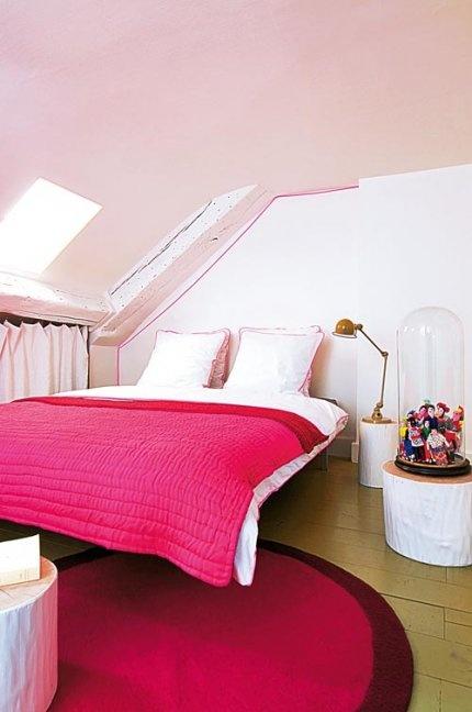 die besten 25+ heiße rosa schlafzimmer ideen auf pinterest | helle ... - Schlafzimmer Ideen Pink