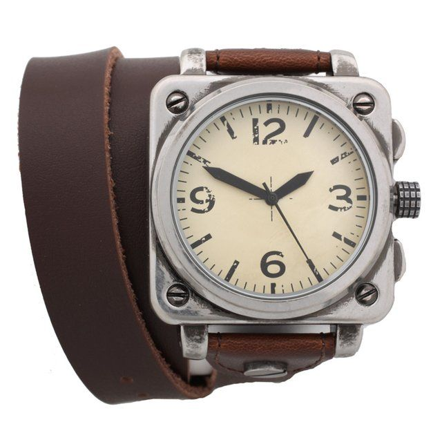 $44 Fancy - ASOS Wrap-Around Leather Watch