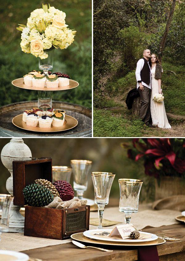 Game of Thrones Inspired Wedding {Rusic + Regal}