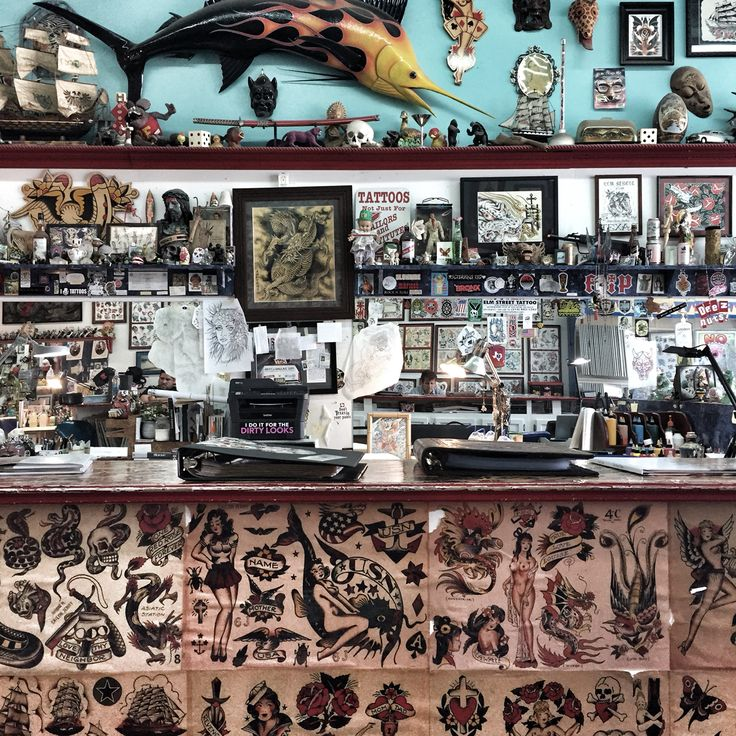 46 best tattoo parlor images on pinterest tattoo parlors for Williamsburg tattoo shops