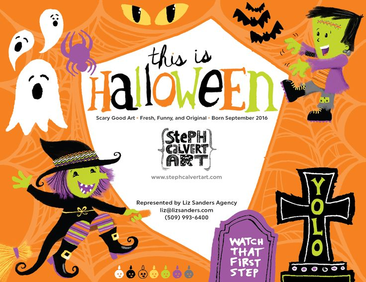 Steph Calvert/This is Halloween Collection represented by Liz Sanders Agency