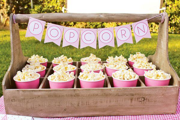 Una forma divertida de servir palomitas / A fun way to serve popcorn