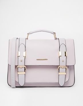 River Island Lilac Large Satchel