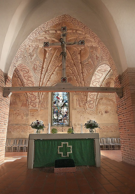 Altar of Espoo Cathedral, Finland by ristozz, via Flickr