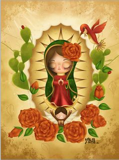 Image result for la virgen de guadalupe