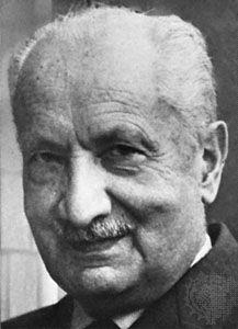 Martin Heidegger (1889—1976), German philosopher