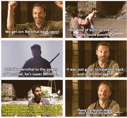 Andrew Lincoln, & Jon Bernthal, The Walking Dead  http://pinterest.com/yankeelisa/the-walking-dead/