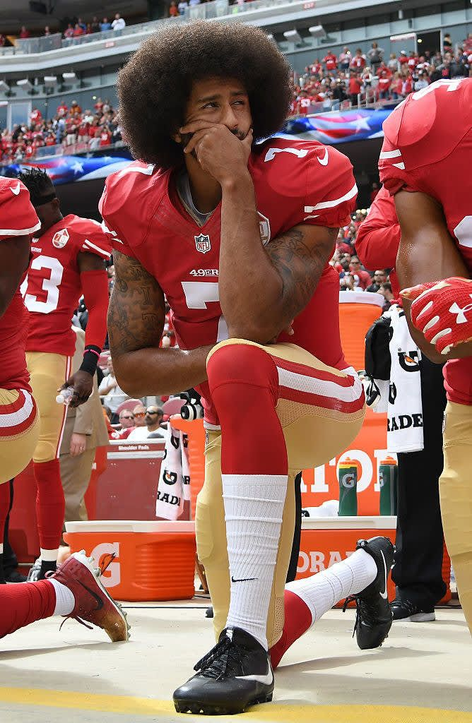 25 Soldiers And Veterans Who Fought For Our Right To Take A Knee Black National Anthem Colin Kaepernick Kaepernick