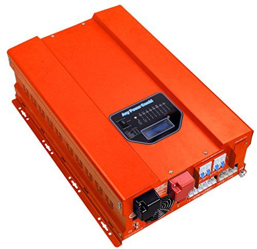 HFV Series ZODORE 10000w Peak 30000w Low Frequency Pure Sine Wave Inverter Charger Built in with 40amp Mppt Solar Charger ControllerDC48v AC 110v Converter LEDLCD Utility Inverter Charger Transfer SW Solar Power AGS All in One >>> Click image to review more details. Note: It's an affiliate link to Amazon