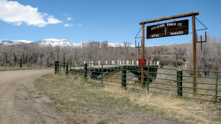Pitchfork Ranch, Meeteetse, Wyoming