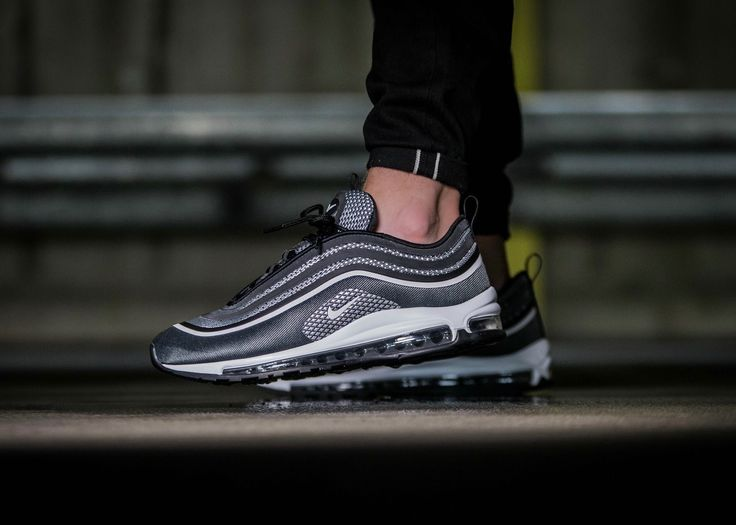 Adaptable Nike Air Max 97 Ultra 17 SE Green Silver Red White