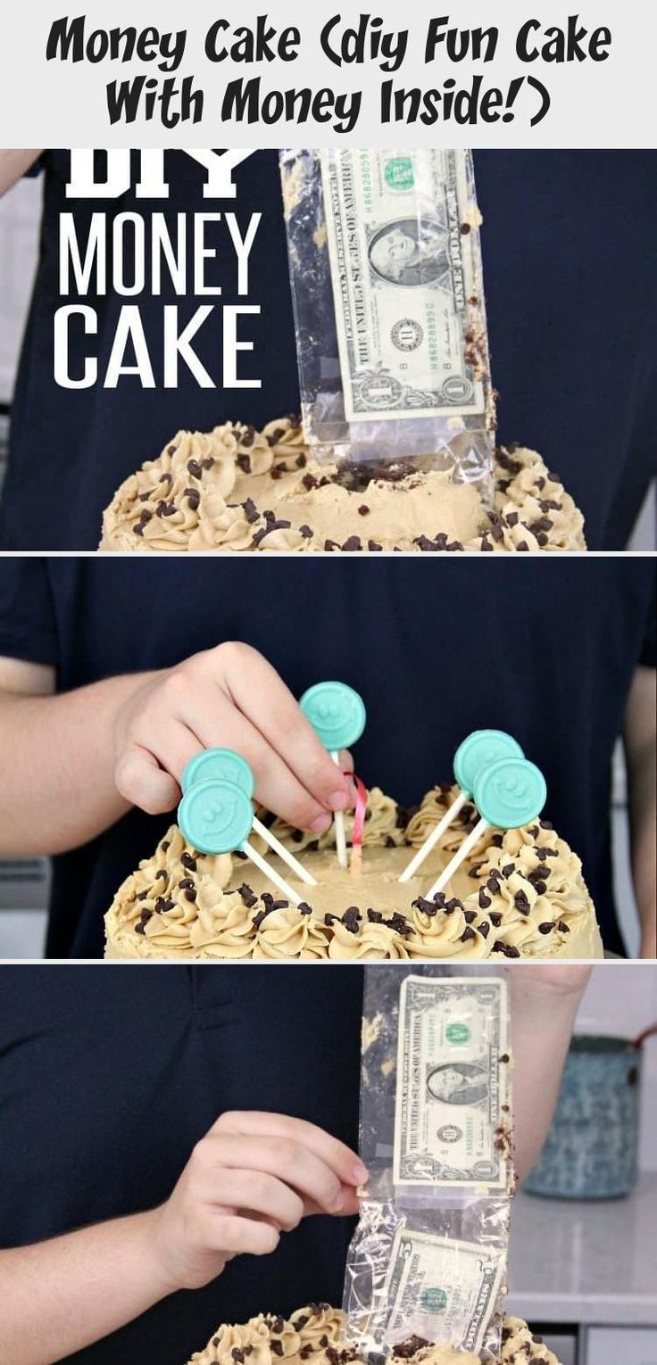 Money cake this easy diy money cake is a lot easier to