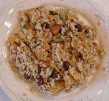Plantain Raisin Almond Rice with Allspice: An All Creatures American ...