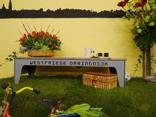 De Westfriese Omringdijk is tegenwoordig een belangrijke toeristische attractie.