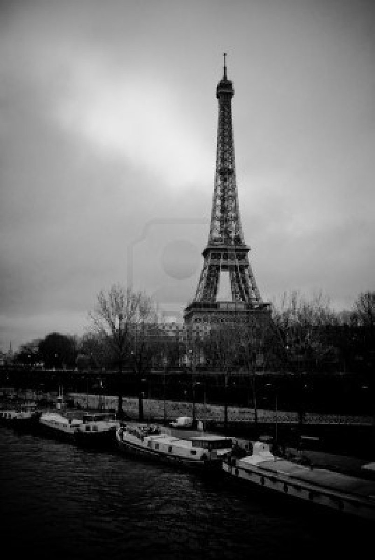 Eiffeltoren in Parijs, Frankrijk.