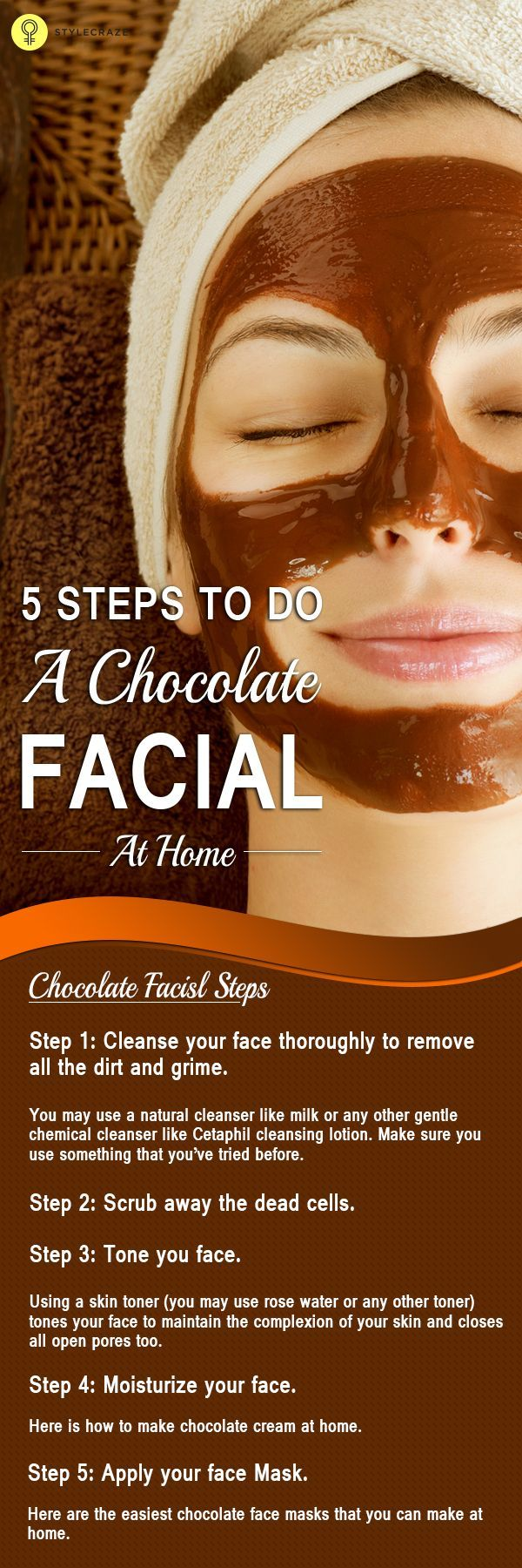 DIY Beauty Tips :   Illustration   Description   5 Simple Steps To Do A Chocolate Facial At Home    -Read More –    https://greatmag.net/diy/diy-beauty/diy-beauty-tips-5-simple-steps-to-do-a-chocolate-facial-at-home/