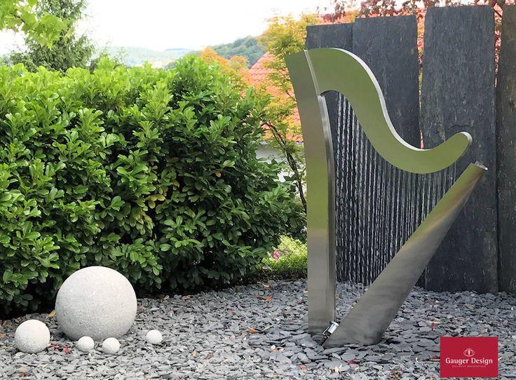 13 besten Gartenbrunnen von Gauger-Design Bilder auf Pinterest - gartenbrunnen selber bauen bauanleitung