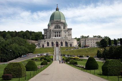 Saint Joseph's Oratory of Mount Royal, (French: Oratoire Saint-Joseph du Mont-Royal), is a Roman Catholicbasilica on the northern slope of Mount Royal in Montreal, Quebec, Canada.