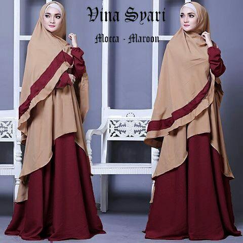 Gamis Murah Trendy Vina (083830692275 WA)