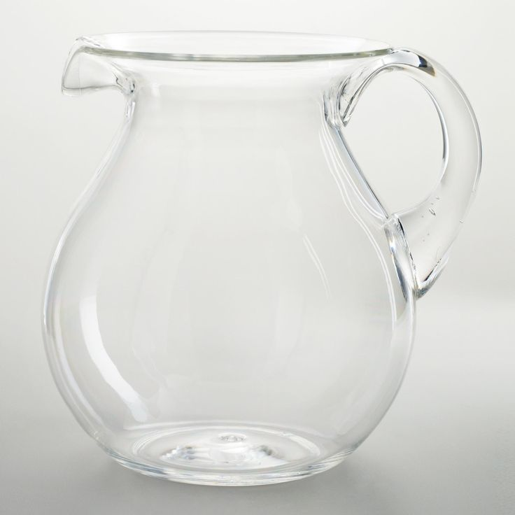 Large Clear Acrylic Pitcher | World Market