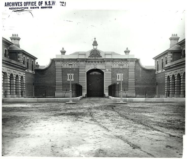 Goulburn Gaol c.1900