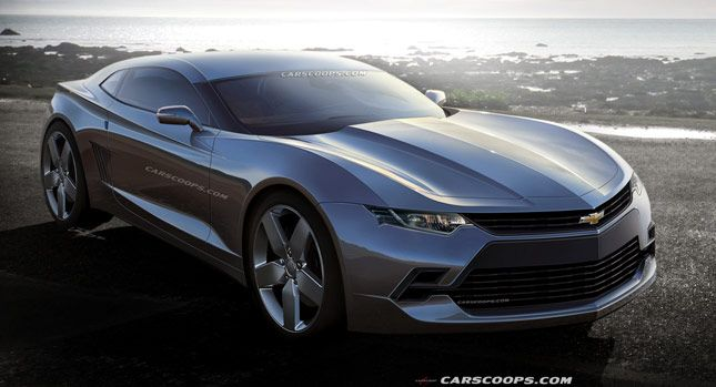 Carscoops: Future Cars: Chevrolet's 2016 Camaro Coupe