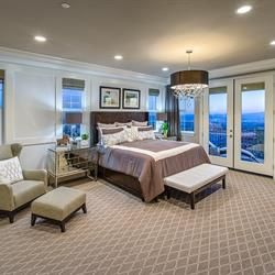 A master suite retreat just for you in the Cardinal plan at Phoenix Crest - new homes by Benchmark Communities in Rancho Cucamonga
