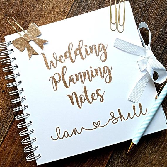 Check out this item in my Etsy shop https://www.etsy.com/uk/listing/541738515/wedding-notebook-wedding-planner-book