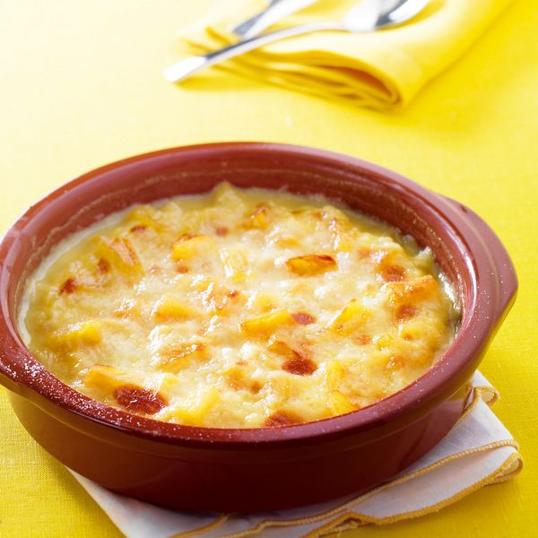 WeightWatchers.fr : recette Weight Watchers - Gratin d'ananas à la noix de coco