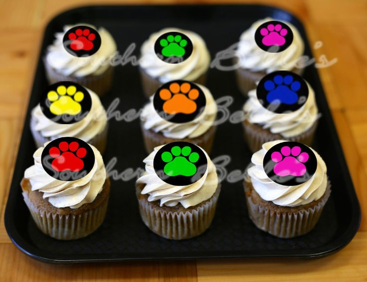 Best 25+ Paw print cakes ideas on Pinterest