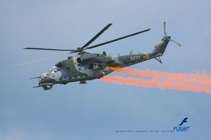 """April 2014 - Mil Mi-24 """"Hind"""" from Czech Air Force - Zeltweg Airpower 2011 - July 2, 2011  Buy Now the Flight Calendar 2014: http://rp9.it/FlightCalendar2014 Contains 12 Amazing Aircraft Photos. The Best Gift for Christmas!"""