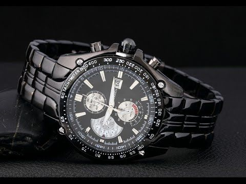 Наручные механические мужские #часы Curren Luxury