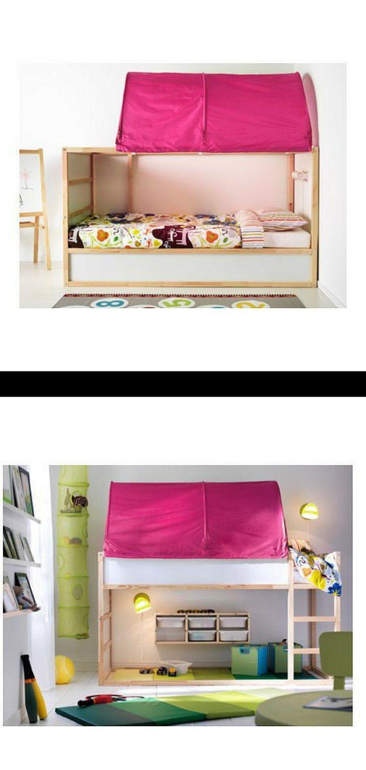 Ikea Kura Bed Tent Pink Ikea Ikeahack Bed Tent Ikeatent
