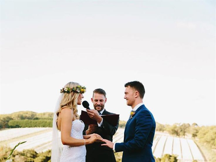 Benny Roff [MELBOURNE] @fun_weddings is a Melbourne marriage celebrant who has conducted a diverse range of marriage ceremonies