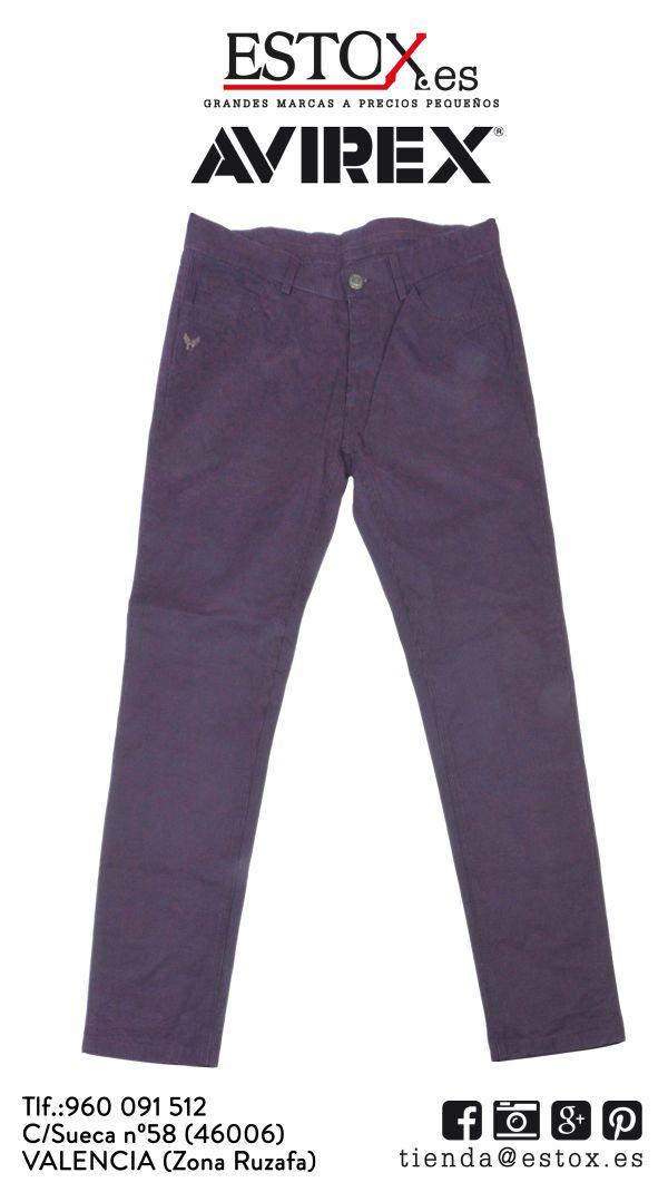Para esos días en los que refresca necesitas un #pantalón de pana como este de la #marca #Avirex de #chico por tan sólo 22´40 euros para soci@s de #Estox cuando antes costaba 117. ¡Te esperamos en la Calle Sueca, 58!