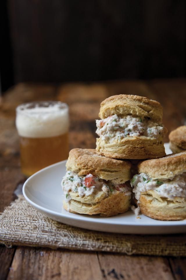 Make better bread with beer! Jacquelyn Dodd, author of The Craft Beer Bites Cookbook, shows you how in her recipe for crab salad sliders on pepper beer biscuits.