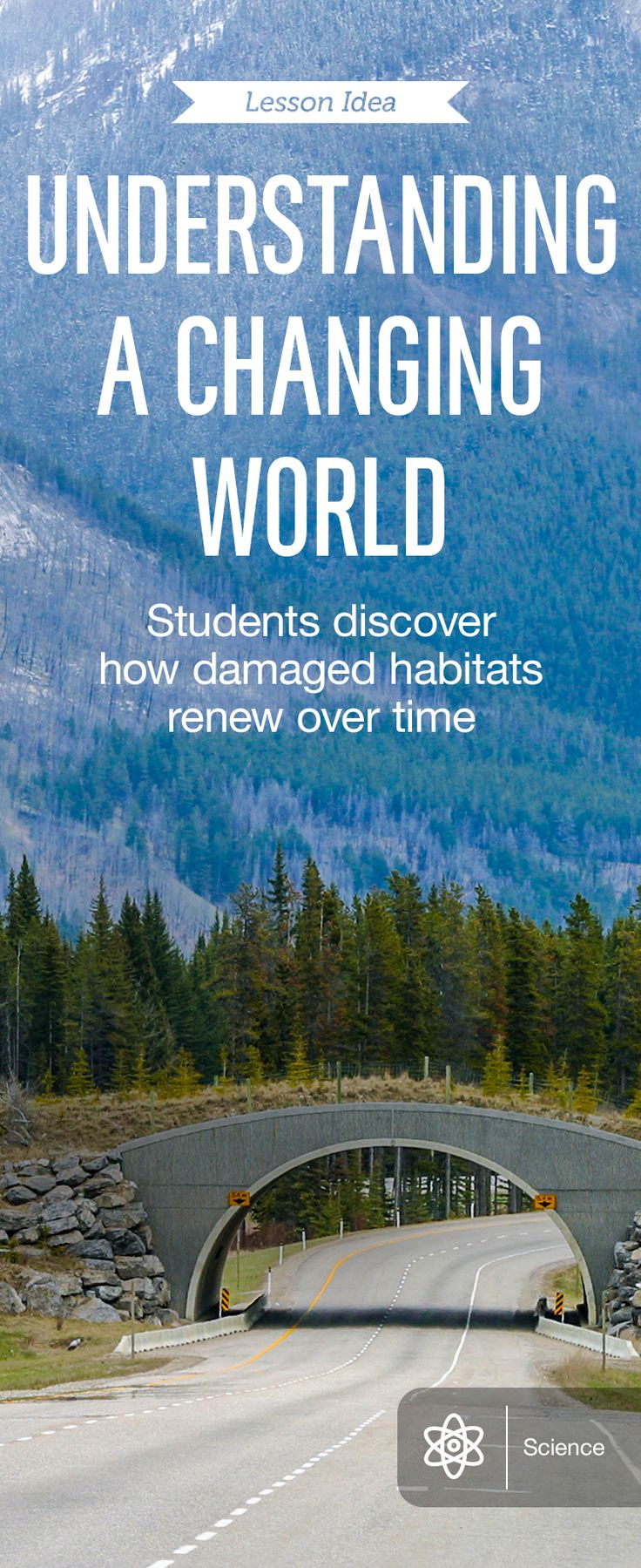 Reading about secondary succession in E.O. Wilson's Life on Earth, students ages 11 to 17 next consult wildlife agencies to study how indigenous plants have been affected by succession in a nearby area. With the RWT Timeline app, they chart what might have taken place. Then, using the Sketchbook Express app, they illustrate examples of habitat fragmentation. For details…