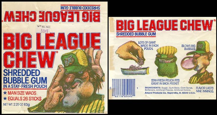 Big League Chew, 1980