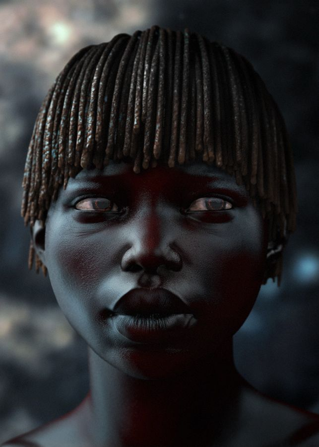 little african girl by ~TsvetanNikolov