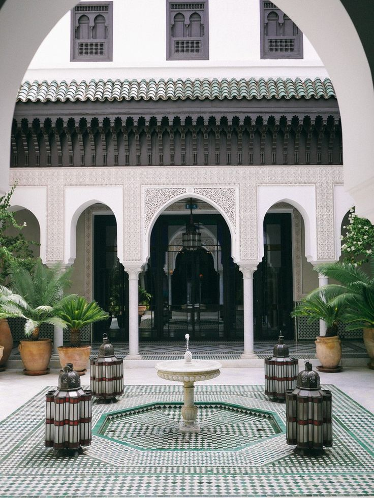 La Mamounia, Marrakech - The Londoner. We almost booked a trip to Morocco this winter.
