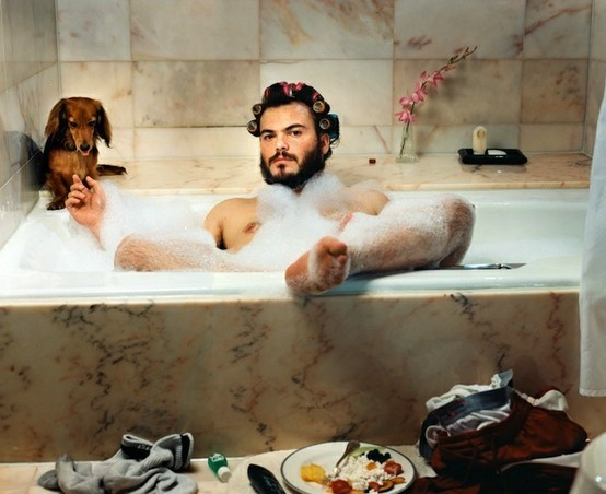 Beard AND Weener dog! Martin schoeller