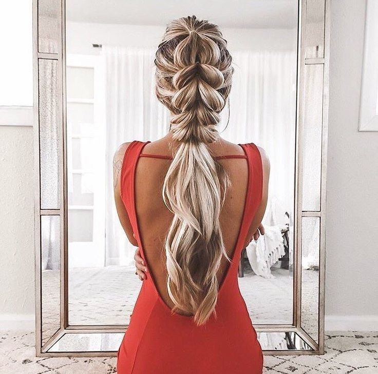 ❤51 gorgeous fishtail braided hairstyles for long hair you must try in 2019 31 #braidedhairstyles #braidedhairstylesart