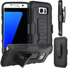 Прочная Броня Противоударный Стенд Шкафы Для Samsung Galaxy Note 5 4 3 2 S7 S6 Territory Плюс S5 S4 S3 мини Зажим Для Ремня Чехол Футляр (China (Mainland))