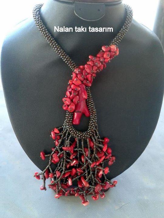 Mercan kolye | Nalan Takı Tasarım