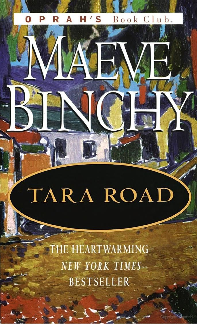 I love Maeve Binchy. All her books leave me dreaming of Ireland.
