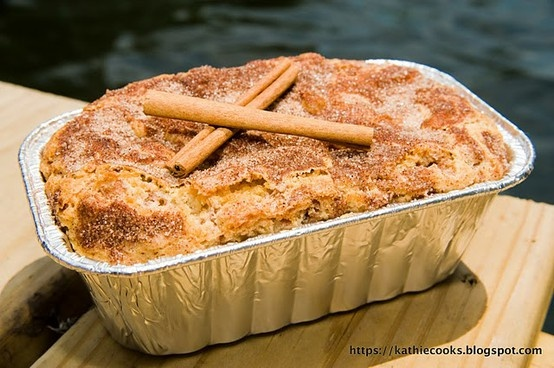 Snickerdoodle Bread...Yes please!  Can you imagine how yummy this would taste and make your house smell? - Click image to find more Holidays & Events Pinterest pins